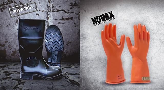 Segurindustria: guantes novax y botas rgb