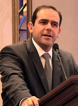 Eduardo Landin, vicepresidente de Operaciones