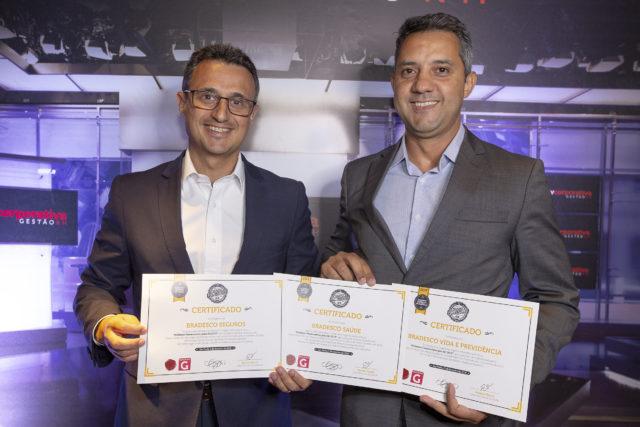 Grupo Bradesco Seguros conquista três troféus no prêmio Melhores Fornecedores para RH 2019