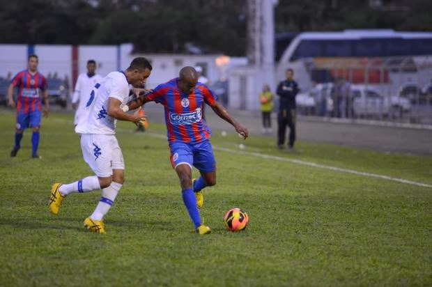 Santo André e Marcílio Dias foi o único confronto entre equipes de segunda divisão na Série D (Foto: Reprodução/Jogos do Marcílio)