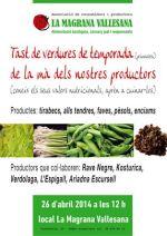 Cata de verduras, de la Magrana Vallesana.