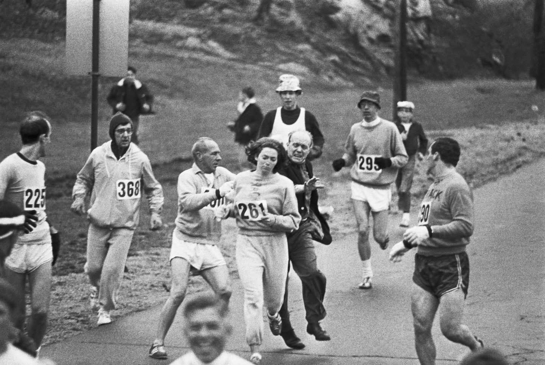 Katherine Switzer Maratón Boston