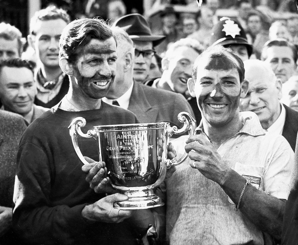 Stirling Moss Tony Brooks trofeo 1957