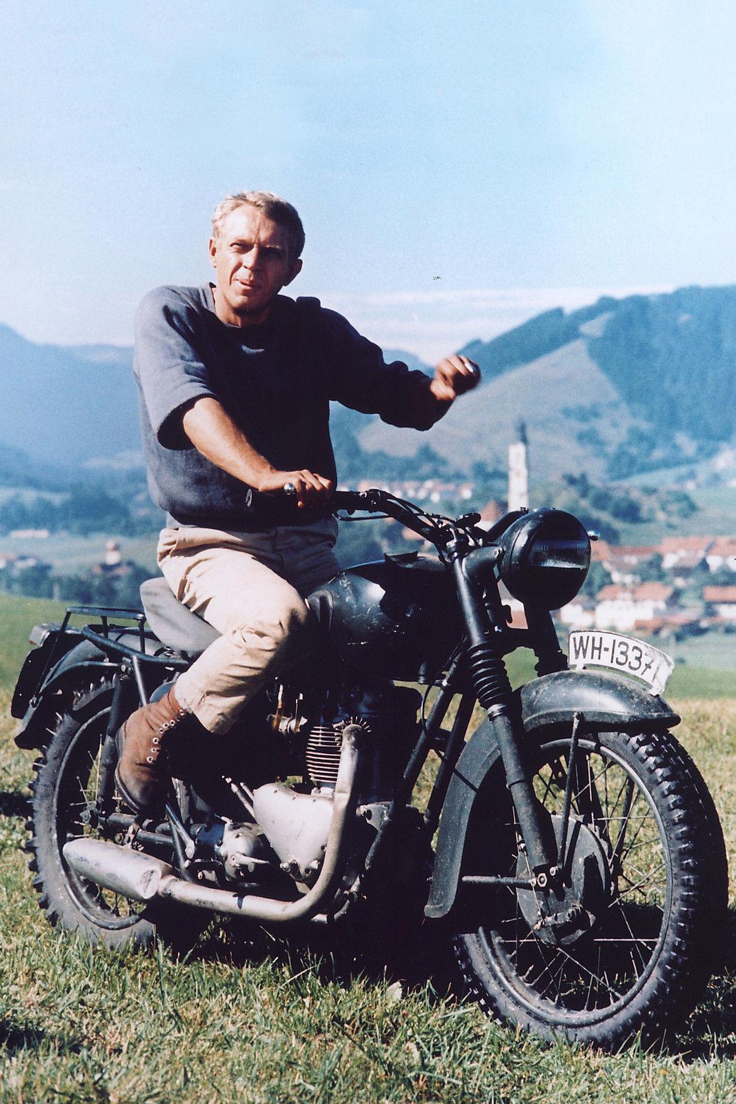 Steve McQueen Triumph TT 650 Special