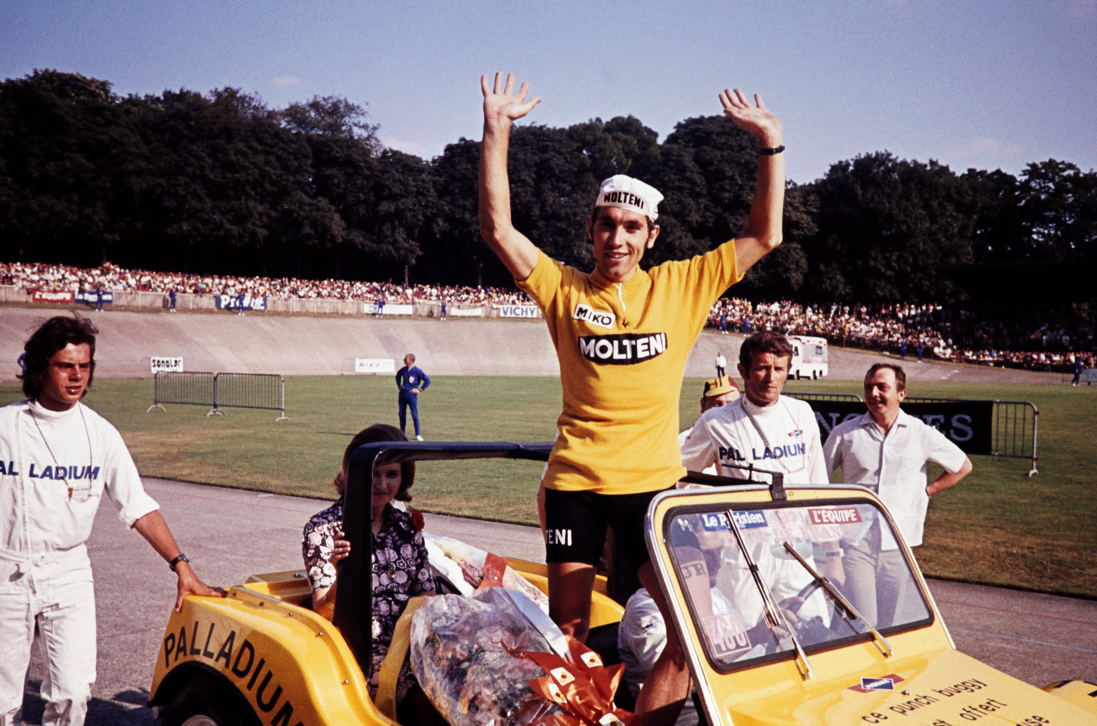 Eddy Merckx maillot amarillo 1971