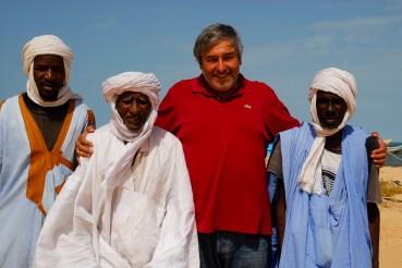 Mauritania entre pescadores da aldeia de Mseeb