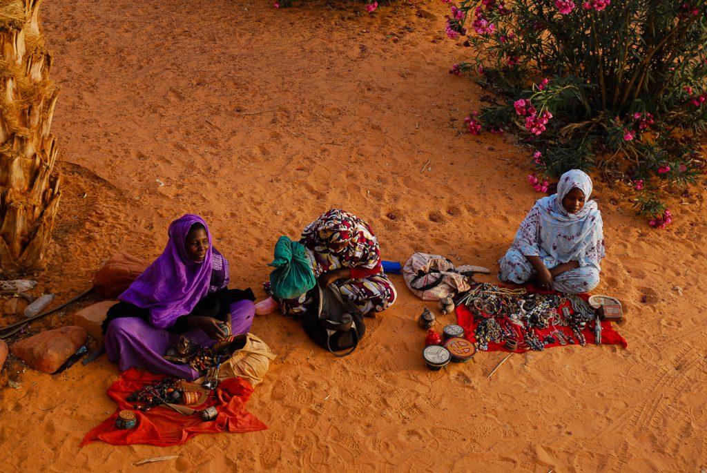 Mauritânia-artesanato-em-Chinguetti