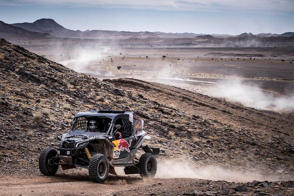 Al-Attiyah nas pistas de Marrocos