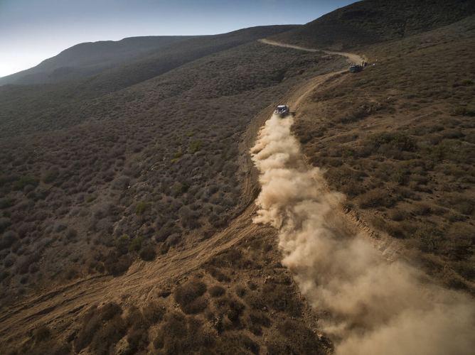 Baja San Felipe poeira