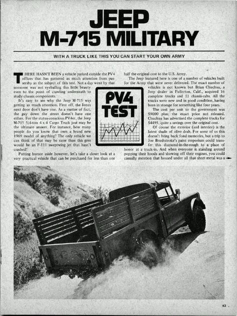 M-715 militar