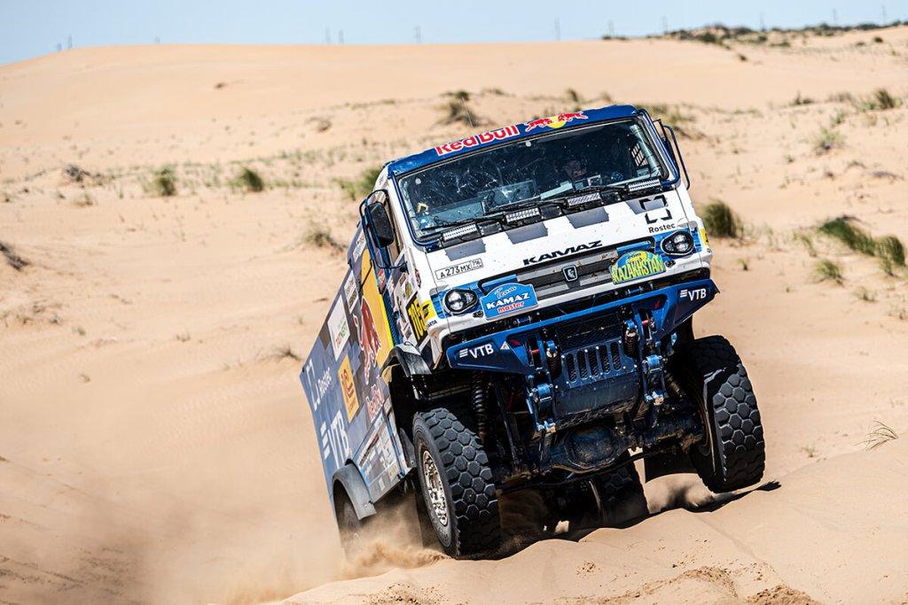 Dmitri Stonikov venceu o Rali do Cazaquistão, ao nível dos camiões