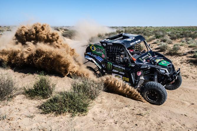 O Can Am de Reinaldo Varela venceu a categoria T3 no Cazaquistão