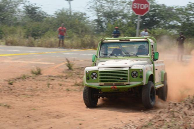 Alexandre Lopes no Rali dos Libongos