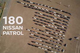 Recorde de Nissan 4x4 em Reguengos de Monsaraz