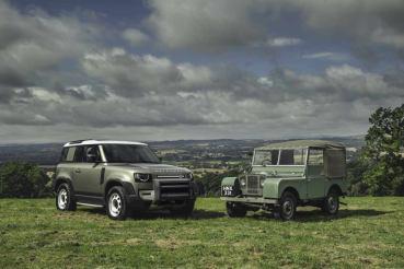 O primeiro Land Rover e o novo Defender