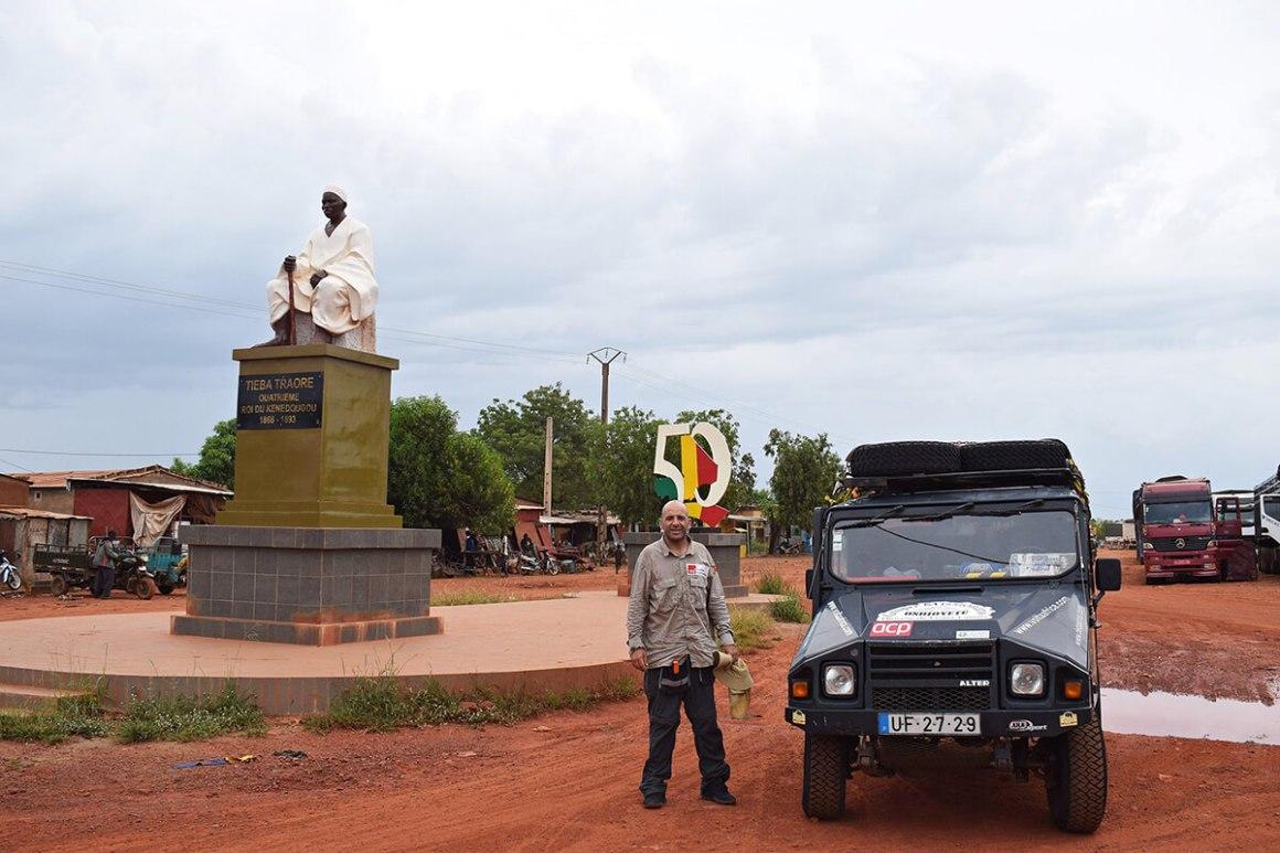 O UMM em Sikasso, Mali