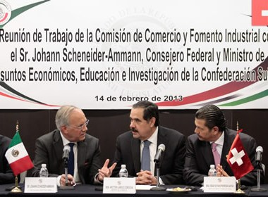 Reunión de trabajo de la Comisión de Comercio y Fomento Insdutrial