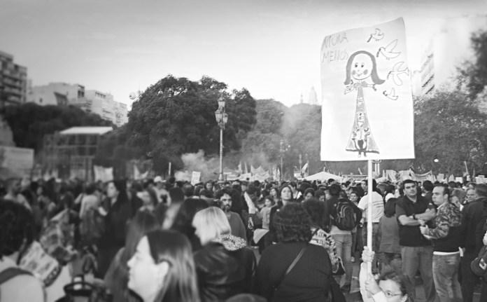 Movilización #NiUnaMenos