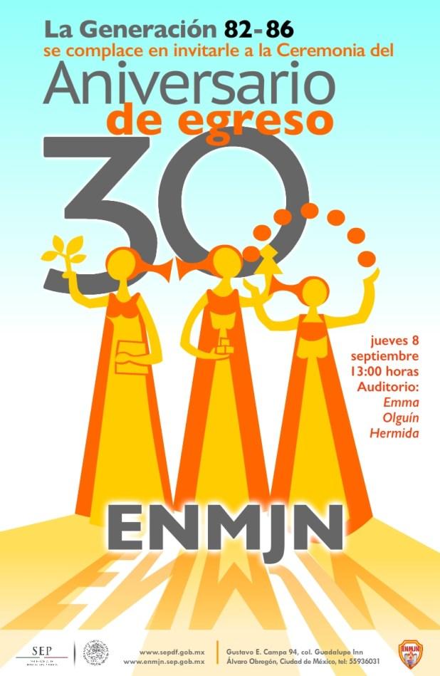 30 Aniversario 1982-1986 cartel