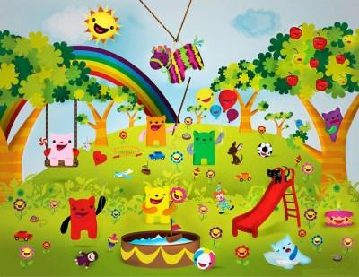 """""""Jardín de niños"""". Imagen: SEEDY"""