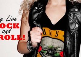 Camisetas Rockeras en niñas bien.