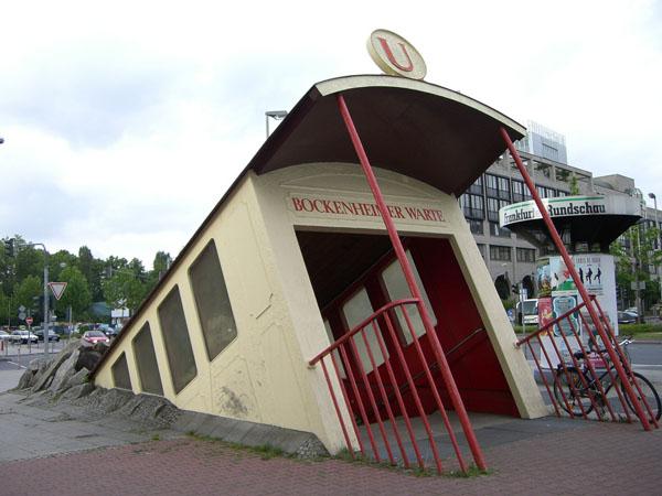 Entrada de Metro en Alemania