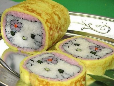 Sushi Hello Kitty