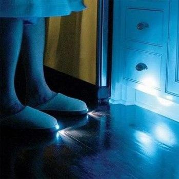 Zapatillas con iluminación.