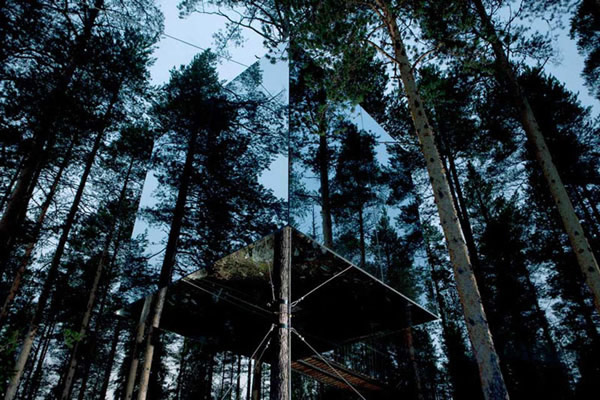 TreeHotel - Mirror Cube