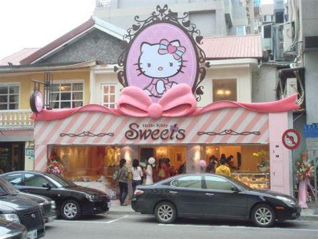 Pastelería Hello Kitty