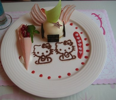 Postres Hello Kitty