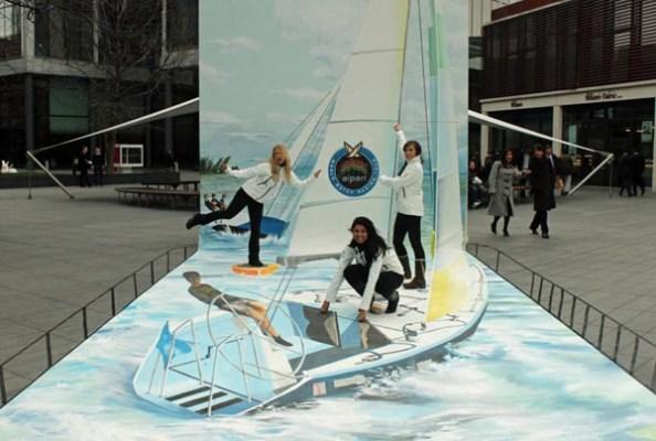 Publicidad en Pinturas 3D - Publicidad Alpari