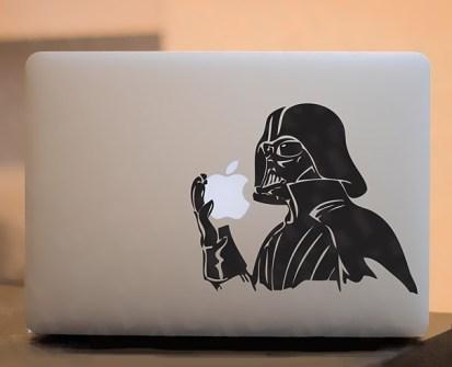 Personalizar Mac Darth Vader