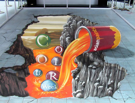 Publicidad en Pinturas 3D - Publicidad Asian Paints