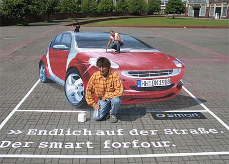 Publicidad en Pinturas 3D - Publicidad Smart