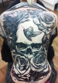 Tatuajes grandes de espalda