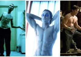 Las 15 transformaciones de actores más impactantes.