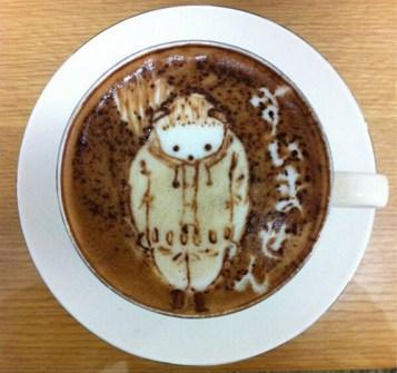 Coffee Art artístico