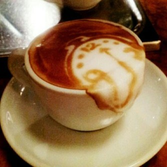 Coffee Art Salvador Dali