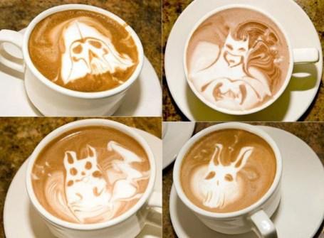 Coffee Art Halloween