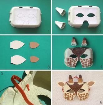 DIY - Careta jirafa