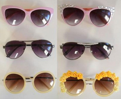 DIY - Gafas de Sol decoradas