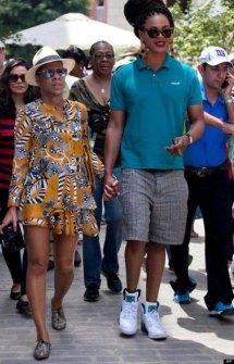 Montajes fotográficos - Beyoncé con Jay-Z
