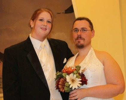 Montajes fotográficos - Los novios de la boda