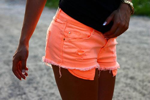 Neón y colores flúor - Shorts