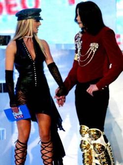 VMAs 2002 - Britney Spears y Michael Jackson