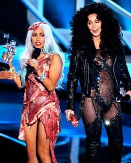 VMAs 2010 - Lady Gaga y Cher