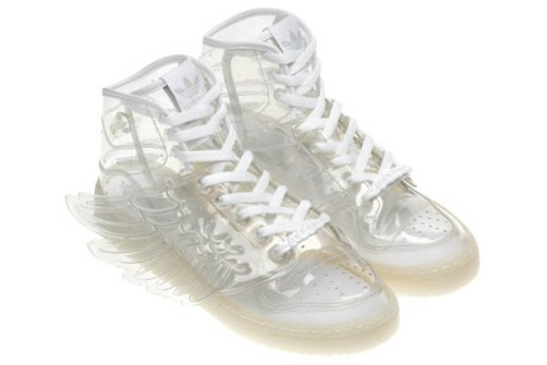 Jeremy Scott - Adidas con Alas transparentes
