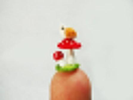 Amigurumi miniaturas - Caracol