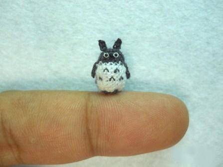 Amigurumi miniaturas - Totoro